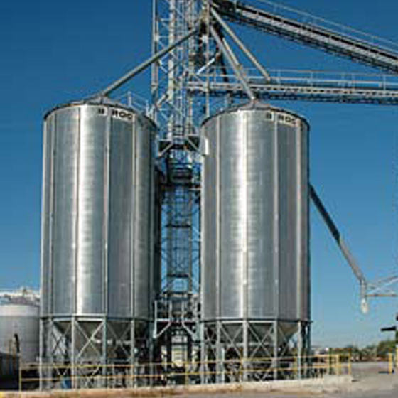 Silo conique commercial
